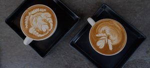 Coffee With Desert At Skull Creek Boathouse