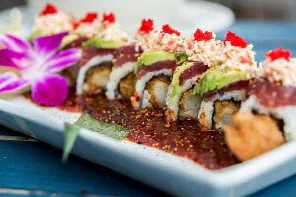 Boathouse sushi on HHI
