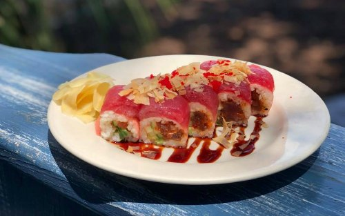 Local places to find sushi on HHI