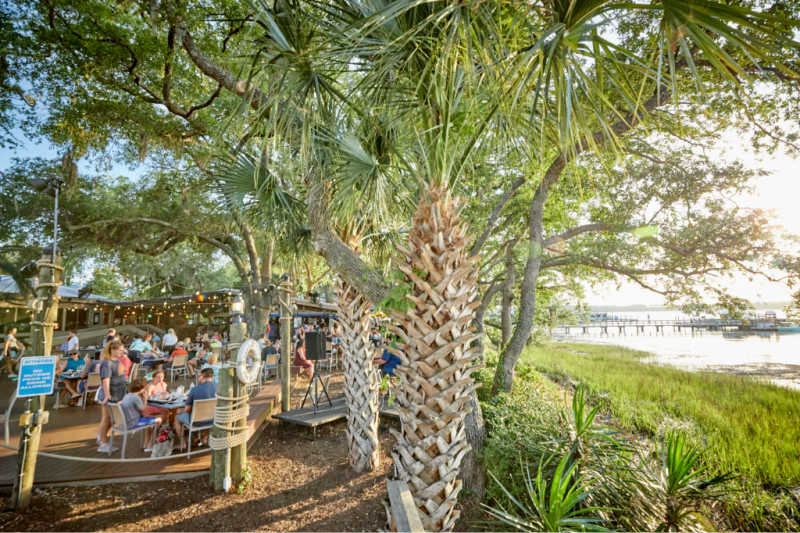 The Best Outdoor Dining On Hilton Head