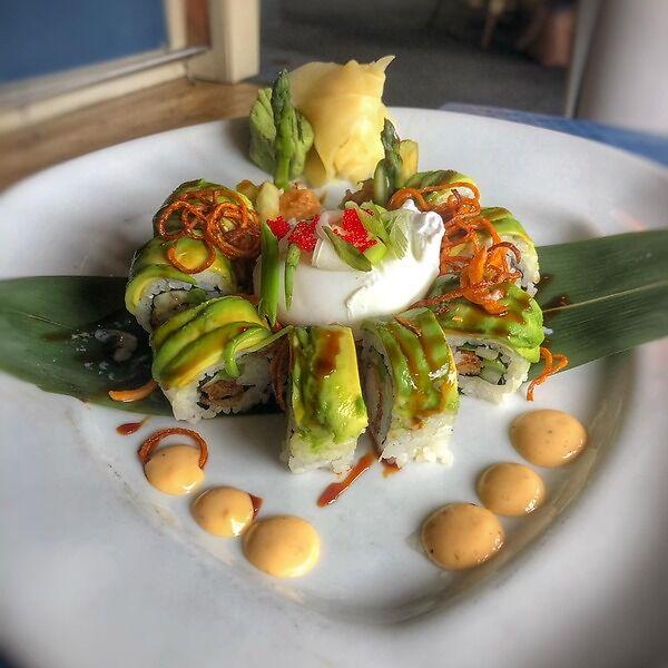 a real sushi bar